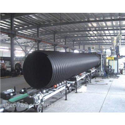 塑料管道管材 hdpe缠绕增强管