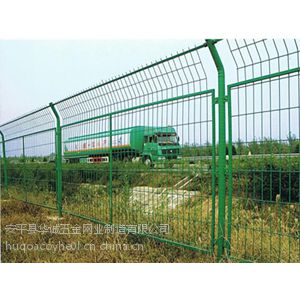 保定铁路、机场、港口码头 优质的框架型护栏网华诚丝网制造公司***