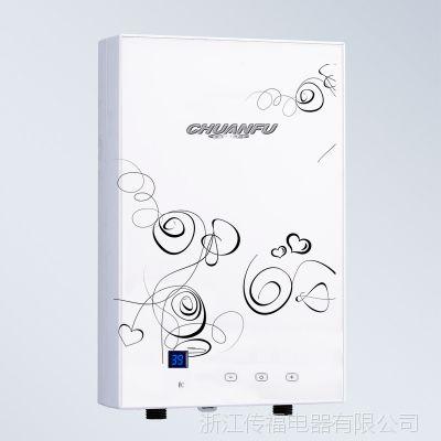 传福 7000w大功率省电速热1秒恒温即热式电热水器厂家批发防漏电