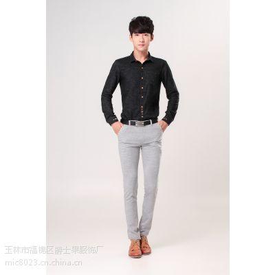 2015春夏装新款 英伦式体现不同风格休闲裤长裤 男人必备