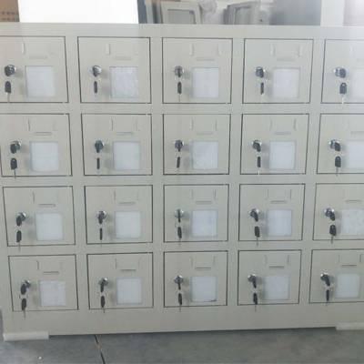武汉学校手机充电箱订做 40门手机寄存柜低压配电柜价格 箱子循环分配