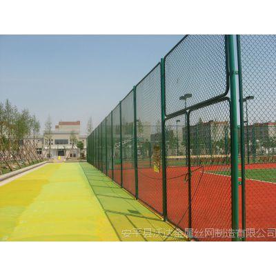 安平沃达排球场围网 Q235PVC包塑钢丝围网