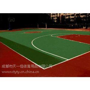 供应成都塑胶篮球场地面/室内外篮球场/EPDM篮球场/硅PU篮球场/塑胶场地铺设/塑胶地面施工/塑胶