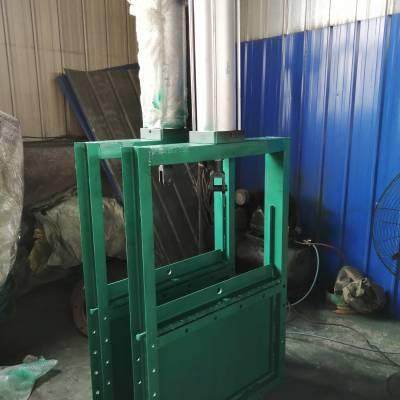 鑫佳供应气动插板阀碳钢气动插板阀DN500的价格;