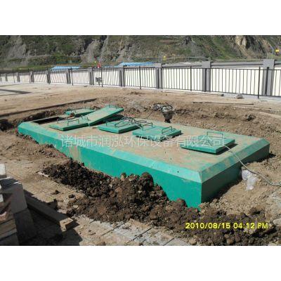 一体化污水处理设备MBR,一级A排放中水回用标准,山东诸城润泓环保生产厂家