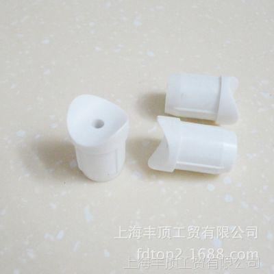 厂家直销  19管塑料连接件 异形家具塑料配件 管堵 注塑加工成型