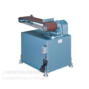 台湾志韦GW-K18 皮帶輪式附機座砂布環帶研磨機