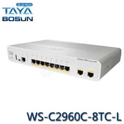 供应 思科/CISCO WS-C2960C-8TC-L 思科8口交换机 二层8口交换机 行货