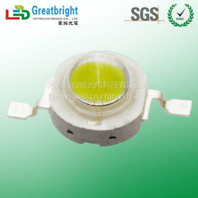 1-3W通用大功率LED灯珠白光/LED大功率白光选择台灣台铭光电科技东莞公司