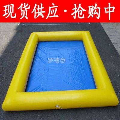 供应厂家直销儿童沙滩乐园沙滩池钓鱼池充气水池【9平米沙池】包邮