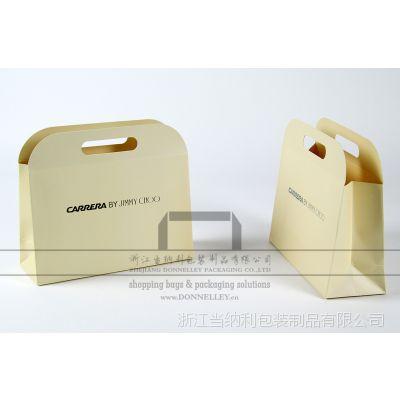 生产JIMMY CHOO眼镜、服装、首饰、香水包装袋,杭州奢侈品牌手提纸袋