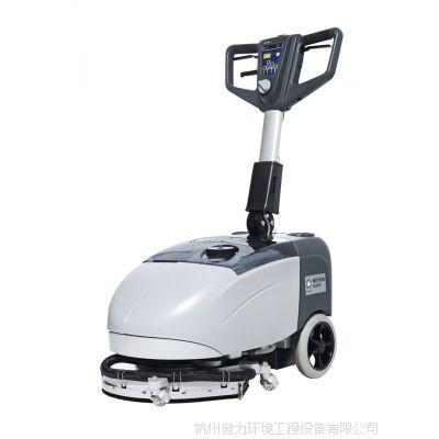 力奇先进全自动洗地吸干机 手推式洗地机 力奇SC350