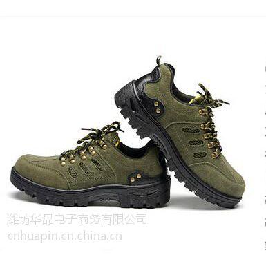 华品HP085夏季透气防砸劳保鞋 工作鞋厂家直销带钢头防刺穿安全鞋批发