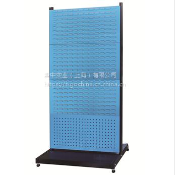 厂家供应信高固定型立式双面四层物料整理架新XKR24方孔挂板