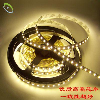 厂家直销温馨LED光带 3014灯带120灯 柔性装饰低压软灯条 超高亮