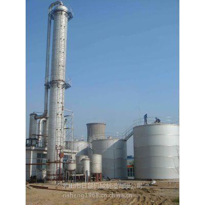 乳山日晟专业生产精馏塔|酒精回收塔|甲醇|丙酮|甲苯回收塔