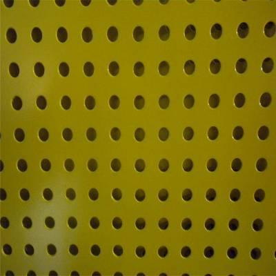 镀锌钢板网 脚手架钢板网 圆孔铁网