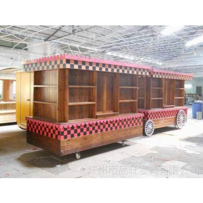 甘肃游乐园售货车,济南水上乐园售卖亭,武汉广场售卖车
