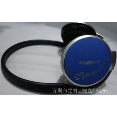 头戴式插卡MP3火热上市 深圳插卡耳机国鑫,无线插卡音响工厂