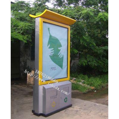 供应安徽芜湖广告垃圾箱生产厂家