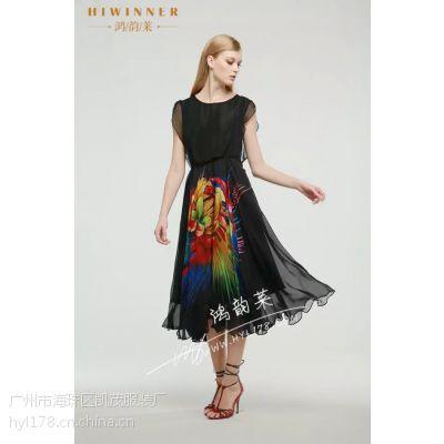 经得起时间考验的厂家:吉林2015桑蚕丝连衣裙批发