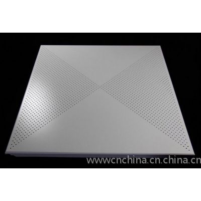 對角沖孔600x600鋁扣板廠家@白色沖孔鋁扣板裝飾吊頂鋁天花