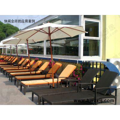 供应广东休闲躺椅、休闲折叠躺椅、藤编折叠躺椅