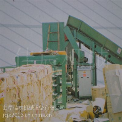 安丘立式液压打包机专卖 大型卧式秸秆压块机 佳宸