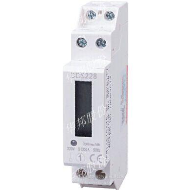DDS228型导轨式电能表,1P带RS485通讯