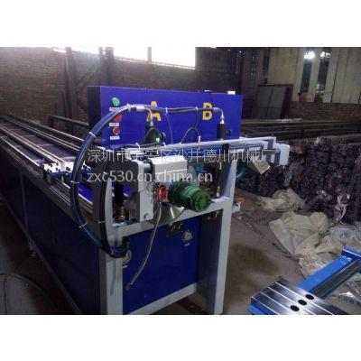德川机械 两工位全自动数控冲孔机,锌钢护栏冲孔机