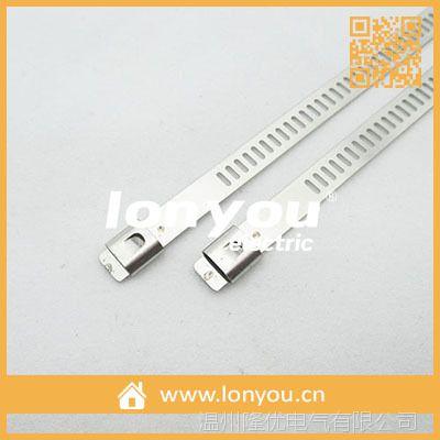 阶梯式不锈钢扎带(单钩型)