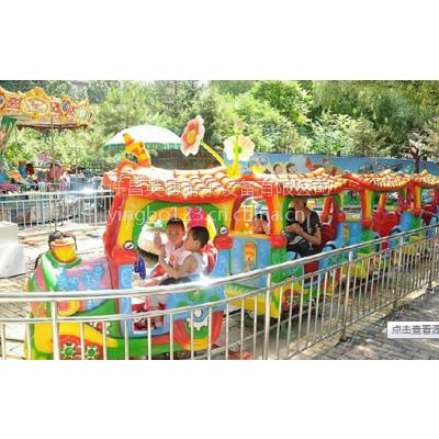 英博儿童游乐设备轨道类小火车