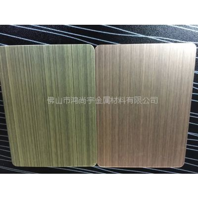 厂家供应不锈钢仿古铜,304拉丝青古铜板材