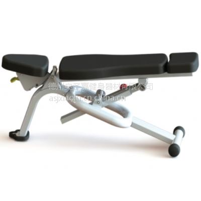 供应奥圣嘉可调凳ASJ-E829商用哑铃训练椅腹肌训练器自由区力量器械欢迎订购