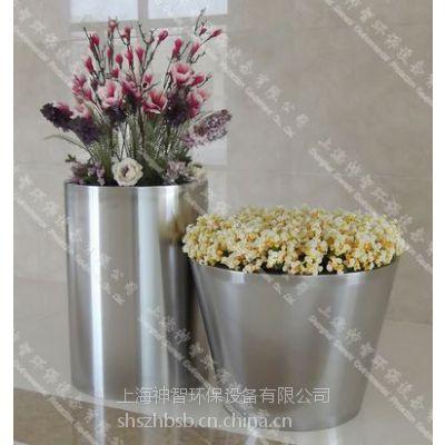 供应江苏不锈钢花盆(SZHP-125)材质304