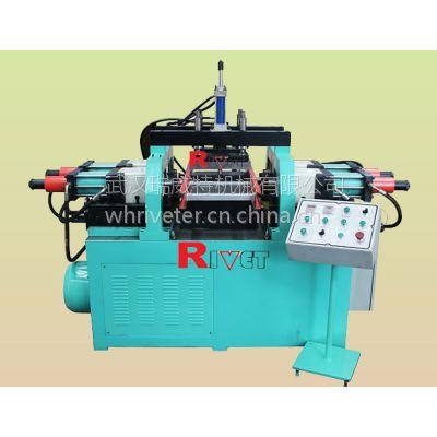瑞威特梯子铆接机,玻璃钢梯子铆接机,绝缘爬梯挤压机,D-形管挤压机,铝形材起鼓机