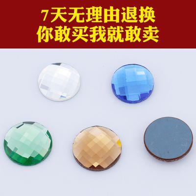移门玻璃贴钻 软包皮雕水晶钻 圆形玻璃钻 移门装饰配件批发天艺