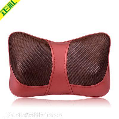 正礼车载按摩器多功能加热颈部肩部腰部电动家用颈椎按摩枕靠枕靠垫