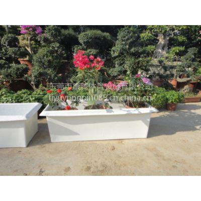 玻璃钢花槽定做 方形花盆价格 长方形花盆批发生产厂家
