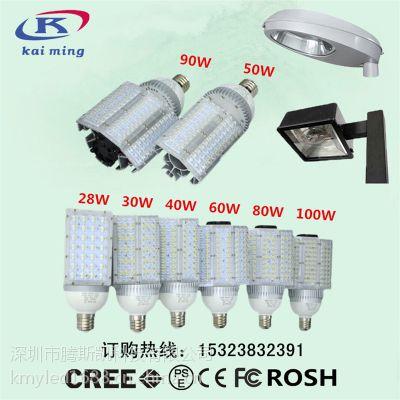 E40100WLED路灯 LED横插路灯头 普瑞灯珠路灯泡