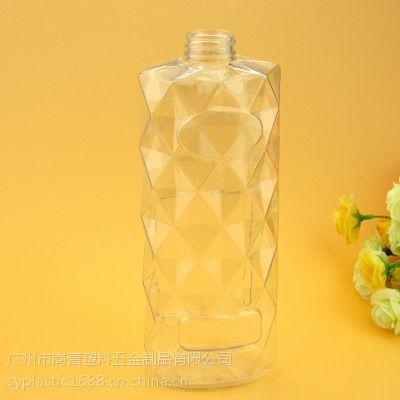 化妆品包装 化妆品包材 750ml洗发水瓶 塑料包装洗护瓶洗发水包材 商誉