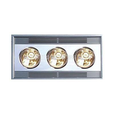 供应集成吊顶浴霸吸顶浴室卫生间取暖灯泡经典华丽三灯暖 j-16