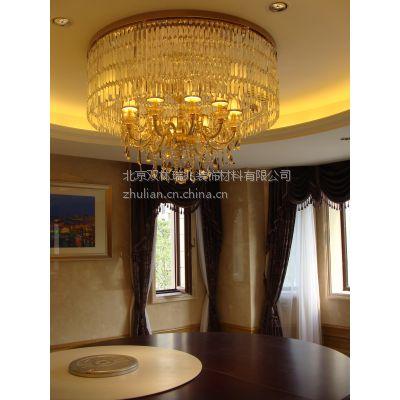 中元之光定制包房豪华水晶灯 高端大气客厅水晶吸顶灯 酒店大堂吊灯销售