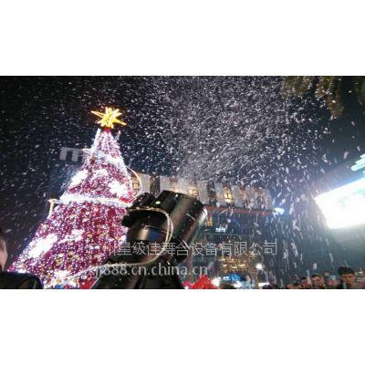 大型雪花机出租|舞台雪花机租赁|圣诞效果雪花机租售服务价