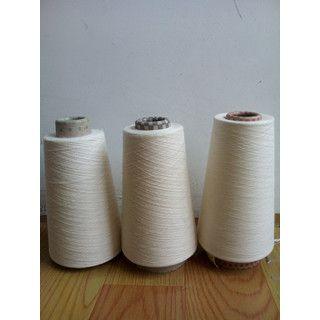 现货环锭纺纯棉纱高配棉8支10支山东浩纺在机生产