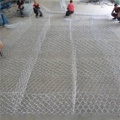 水利工程石笼网 高热镀锌石笼网 格宾网防汛