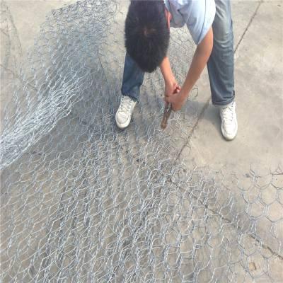 铅丝石笼防洪 石笼护垫 铅丝格宾网