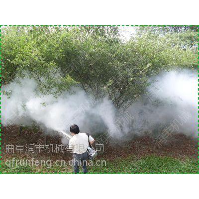 专用柑橘树打药弥雾机 润丰 棉花地灭虫烟雾机价格