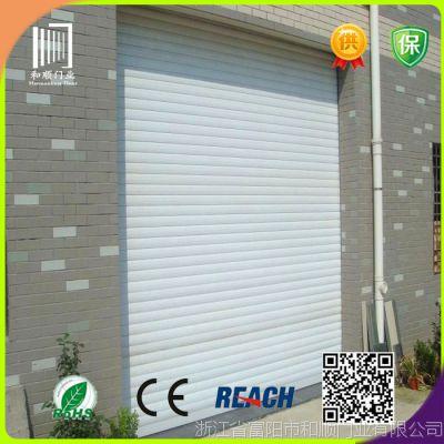 生产厂家供应55双层带消音条铝型材门  铝型材卷帘门