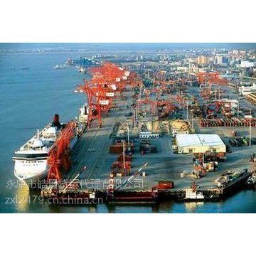 清远到泰州靖江的船运海运费用